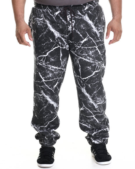 Lrg - Men Black Bridge Makers Sweatpants (B&T)