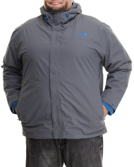 The North Face Men Anden Triclimate Jacket (3Xl) Grey 3X-Large