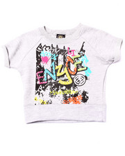 Tops - FRENCH TERRY GRAFFITI TOP (4-6X)