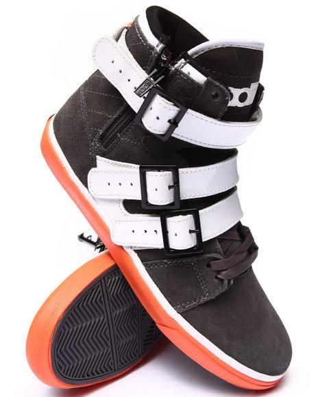 Radii Footwear - Men Charcoal Straight Jacket Vlc Sneakers