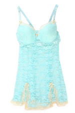 Sets - Love N' Zest Allover Lace Chemise (Plus)