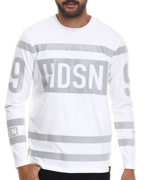 Hudson Nyc - Men White Jumpin Jack Flash 3 M Breathable Knit Jersey
