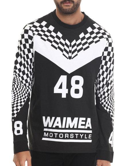 Ur-ID 186778 Waimea - Men Black Motostyle L/S Tee