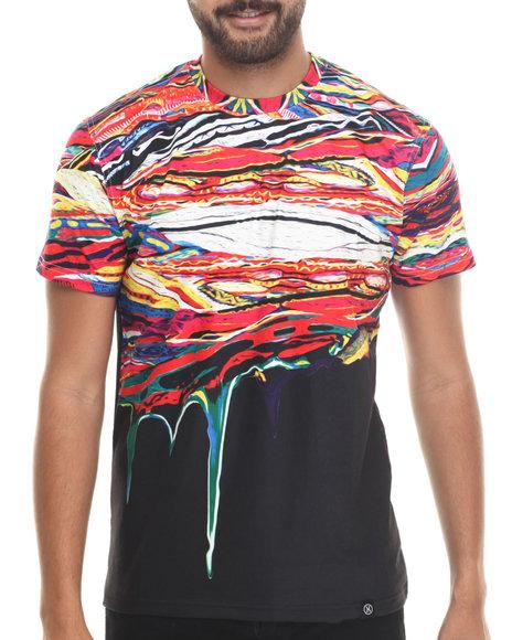 Hudson Nyc - Men Black Persistence Of B I G S/S Knit Shirt