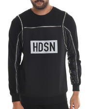 Hudson NYC - Discovery Lux French Terry Crewneck Sweatshirt