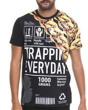 Men - Trappin Life S/S Knit Shirt