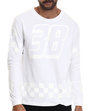 Men - Checkers Tonal L/S Tee
