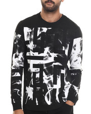 Shirts - Smoke Print L/S Tee