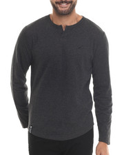 Men - Independent L/S Henley