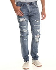 Jeans & Pants - Python Destructed Denim Jeans