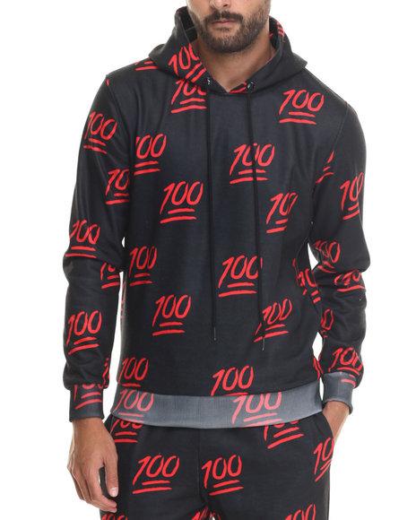 Hudson Nyc - Men Black 100% Pullover Hoodie