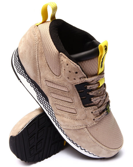 Adidas - Men Khaki Zx Casual Mid Sneakers