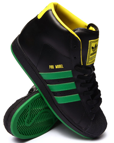 Adidas - Men Black Pro Model Sneakers