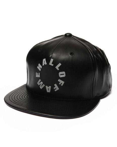 Hall Of Fame Men Center Snapback Cap Black