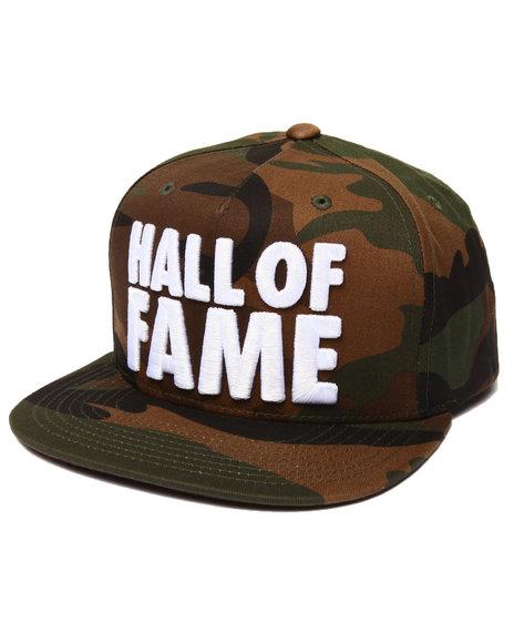 Hall Of Fame Men Chunk Snapback Cap Camo