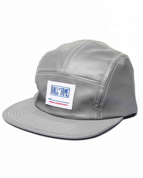 Hall Of Fame Men O L P Camper 5-Panel Cap Silver - $14.99