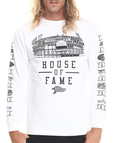 Hall Of Fame - Men White House Of Fame L/S Tee