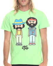 Graf-X Gallery - Cheech & Chong Mens Tear Away Label S/S Tee