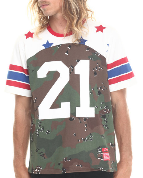 Hall Of Fame - Men Camo Patriot Jersey - $60.99