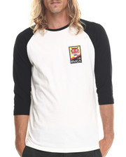 Men - TGVA Baseball Raglan Tee