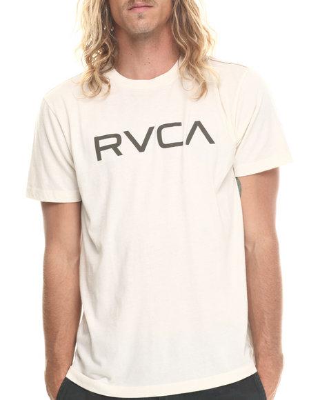 Rvca - Men Cream Big Rvca Tee
