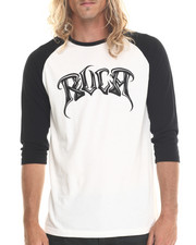 Men - Axis RVCA Baseball Raglan Tee