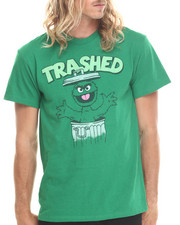 Graf-X Gallery - OSCAR TRASHED SHORT SLEEVE T-SHIRT