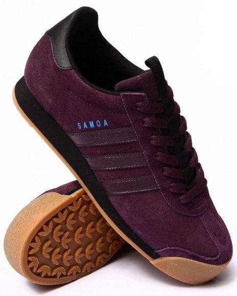 Adidas - Men Purple Samoa Sneakers - $61.99