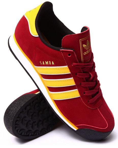 Adidas - Men Maroon Samoa Sneakers