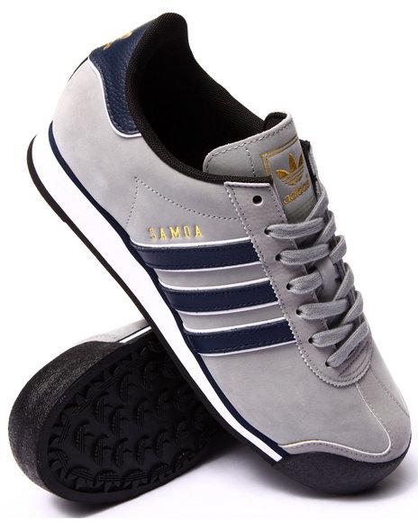 Adidas - Men Grey Samoa Sneakers