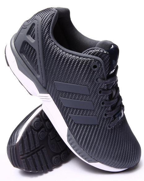 Adidas - Men Grey Zx Flux Ballistic Weave Sneakers