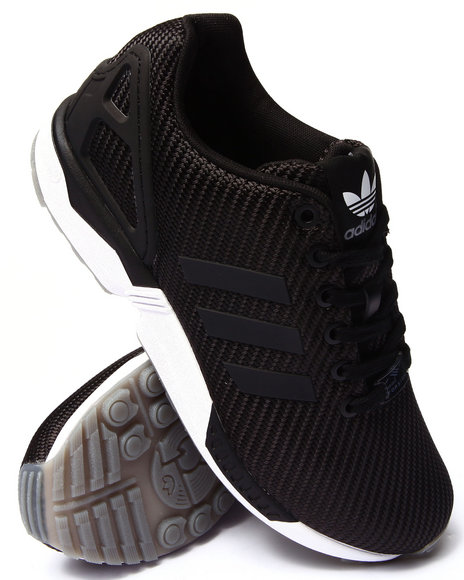 Adidas - Men Black Zx Flux Ballistic Weave Sneakers