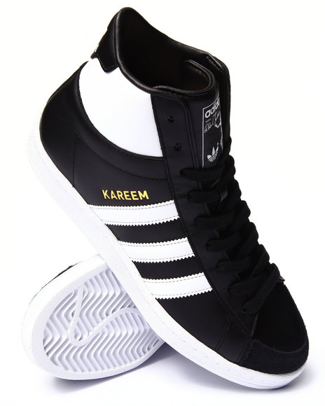 Adidas - Men Black Jabbar Hi Sneakers