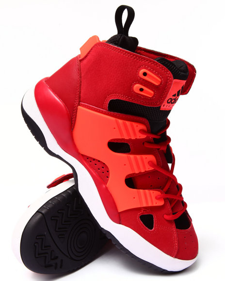 Adidas - Men Red Eqt Basketball Sneakers