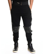 Men - Exotic Thrill Jogger Pant w/ Split leather detail