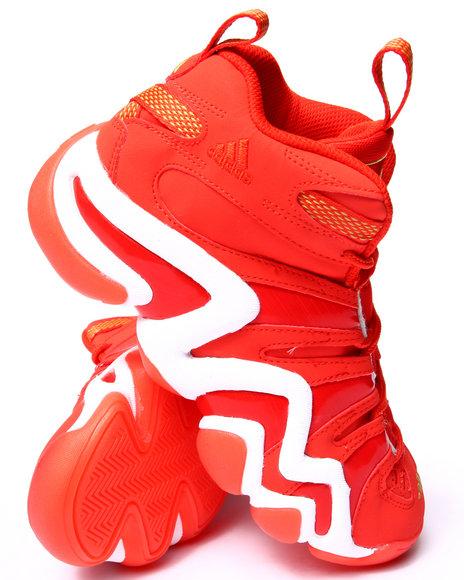 Adidas - Boys Orange Crazy 8 J Sneakers (3.5-7)