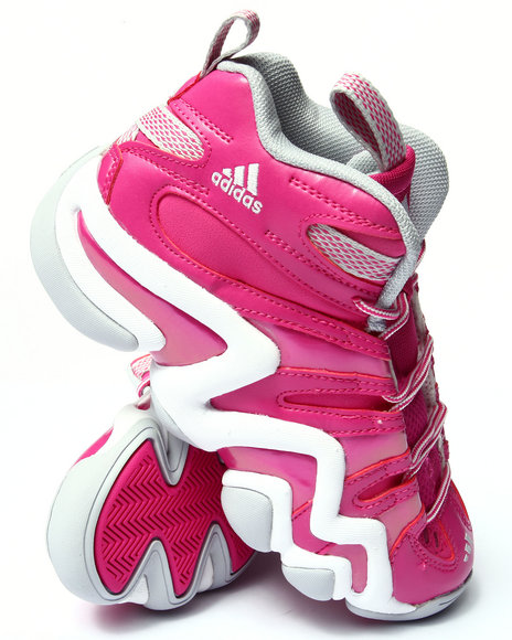 Adidas - Girls Pink Crazy 8 J Sneakers (3.5-7)