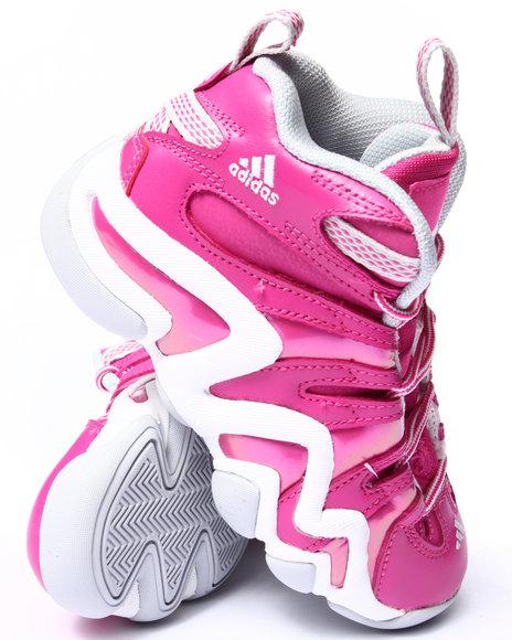 Adidas - Girls Pink Crazy 8 C Sneakers (11-3)