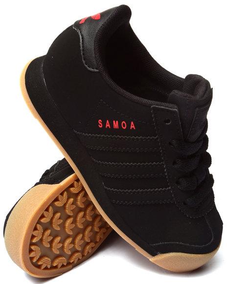 Adidas - Boys Black Samoa C Sneakers (11-3)