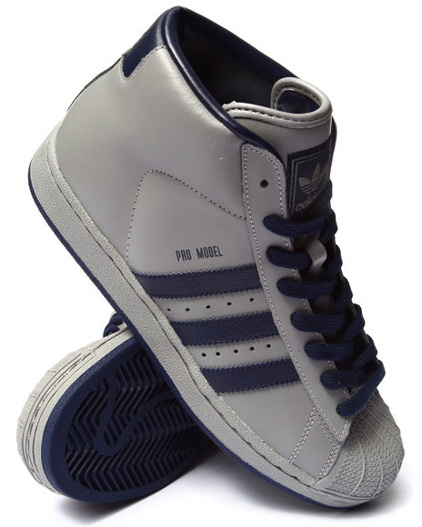 Adidas - Men Grey Pro Model Sneakers