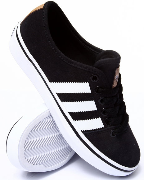 Adidas - Women Black,White Adria Lo W Sneakers - $50.00