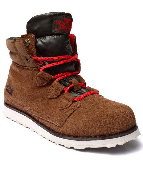 The North Face - Women Brown Ballard Roll Down Boots