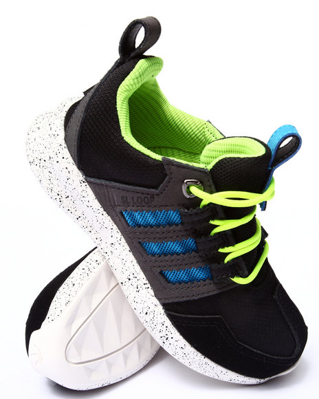 Adidas - Boys Black Sl Loop Tr C Sneakers (11-3) - $31.99