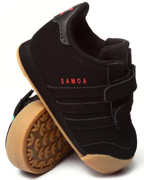 Adidas - Boys Black Samoa Inf Sneakers (5-10)