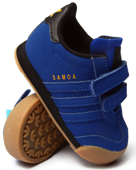 Adidas - Boys Blue Samoa Inf Sneakers (5-10) - $36.00