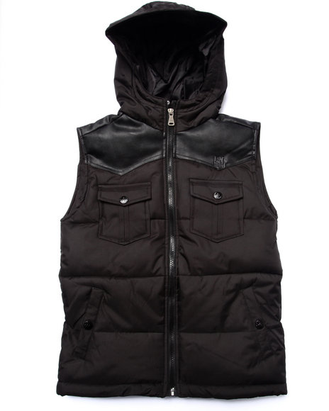 Parish Black Vests