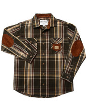 Parish - SUEDE PATCH PLAID WOVEN (8-20)