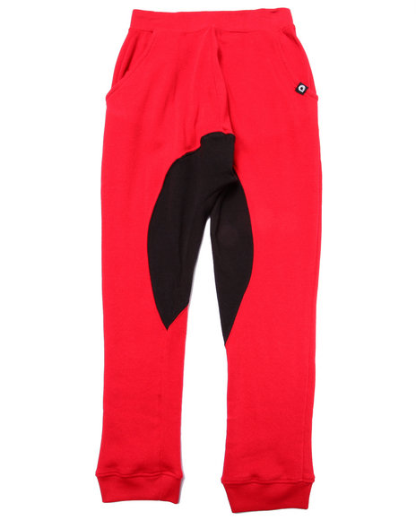 Akademiks - Boys Red Cut & Sew Joggers (8-20) - $40.00