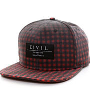 Accessories - Kurt Plaid Snapback