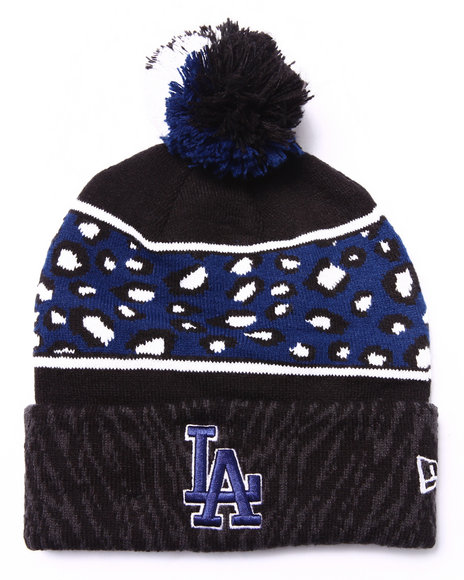 New Era Men Los Angeles Dodgers Polar Prints Knit Hat Multi - $8.99